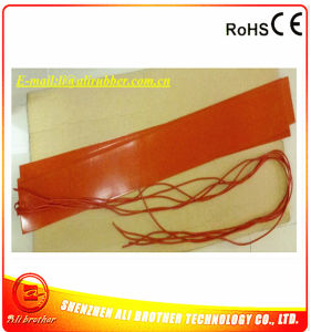 250*2000*1.5mm Industrial Electric Heating Blanket Silicone Rubber Heater pictures & photos