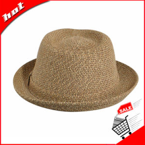 Wholesales High Quality Summer Panama Hat Straw Hats Fedora Hat pictures & photos
