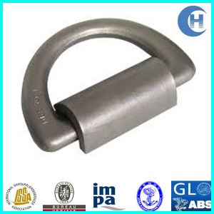 Marine/Ship Forged Steel Lashing D Ring with Bracket (CCS/BV/ABS/GL) pictures & photos