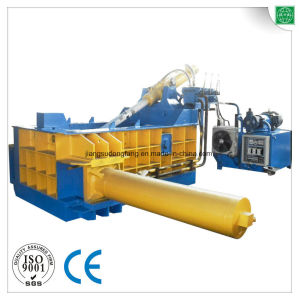 CE Steel Tube Metal Shavings Baler Machine pictures & photos