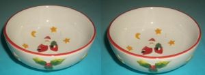 Ceramic Christmas Bowls for Decoration (CT140014) pictures & photos