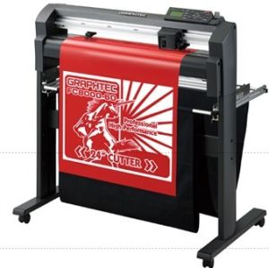 Glass Etching, Sandblast & Rubber Resist Cutting Plotter Graphtec FC8000-160 pictures & photos