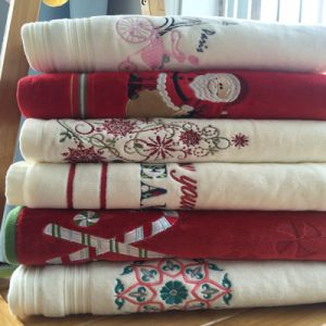 100% Cotton Christmas Gift Towel pictures & photos