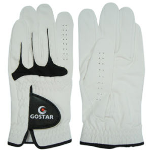 Indonesia Pearl White Golf Glove (CGL-18) pictures & photos