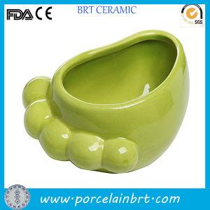 Novelty Feet Shaped Storage Ceramic Food Jar pictures & photos