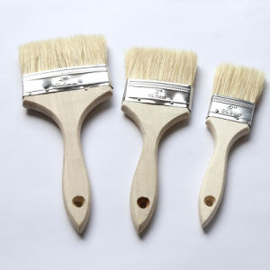 Top Quality Wooden Art Household Industry Paint Brush pictures & photos