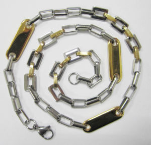 New Popular Steel Necklace, Stainless Steel Chain (355) pictures & photos