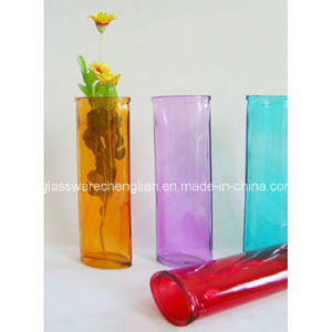 Promotionalcolor Sprayed Glass Vases (V-023) pictures & photos