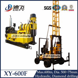 Popular Water Bore Drilling Machine with 600m Max Drilling Depth pictures & photos