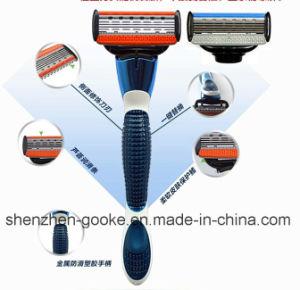 Shaving Razor Handle for Magnum M5 5 Blades Shaving Razors pictures & photos