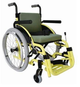 Children Wheelchair Aluminum Wheelchair (Hz124-00-20) pictures & photos