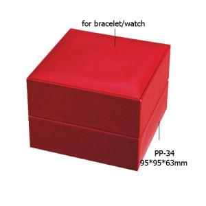 Fashion Luxury Plastic Jewellery Box (PP-34)