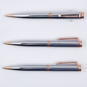 Luxury Gun Grey Metal Ball Pen