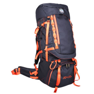 80L+10L High Quality Waterproof Rucksack Backpack for Outdoor Climbing, Hiking, Travelling - Gz1653 pictures & photos