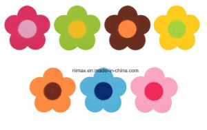 Flower Shape Felt Coaster, Custom Cup Mat/Coaster Set