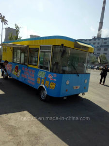 Mobile Fast Food Electric kitchen Car for Making BBQ Teppanyaki Hotpot and Hotdog Hamburgar pictures & photos