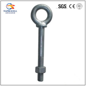 G291 Forged Regular Eye Bolt with Long Shank pictures & photos