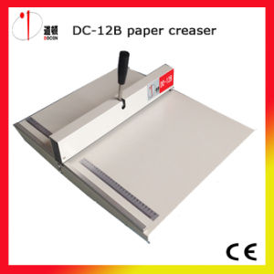 360mm Paper Creasing Machine DC-12b Manual Paper Creaser pictures & photos