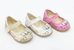 New Princess Bow Shoes Girls Single Shoe (20140517-20)