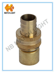 High Pressure Injection Molding Brass Garden Hose Fitting pictures & photos