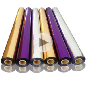 Hot Stamping Foil for Paper/Plastic/Leather/Textile/Fabric/Wood/Glass pictures & photos