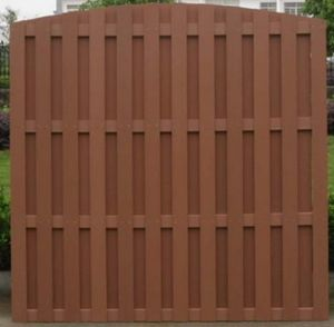 Durable Waterproof Wooden Fencing/WPC Fencing Railing /Garden Fencing pictures & photos