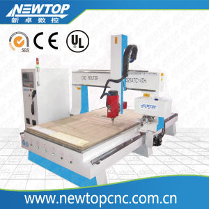 High Quality Efficient Professional Wood CNC Machine/Wood CNC Router Machine/Wood CNC Router with 4 Axis (1325) pictures & photos