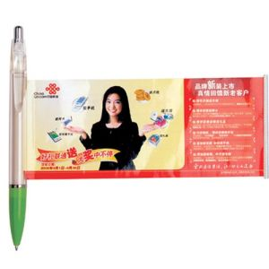Colorful Logo Popular Fashion Promotion Banner Pen-Y206 pictures & photos