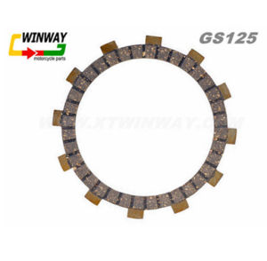 Ww-5329 Motorcycle Part, GS125 Motorcycle Clutch Plate, pictures & photos