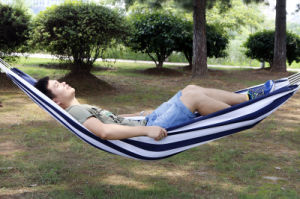 Single Person Polyester Fringe Hammock