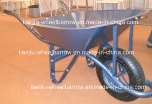 Hand Trolley Tool Cart Wheelbarrow Handcart Wb6400 Wheel Barrow pictures & photos