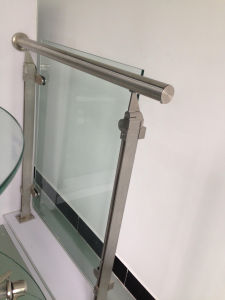Steel Tempered Glass Balustrade pictures & photos