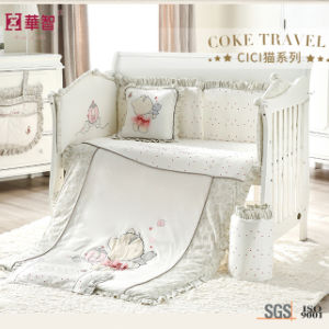 Crib Baby Bedsheet with Quilt pictures & photos