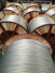 Aluminium Clad Steel Single Wire for Electric Transmission (Lb 20) pictures & photos