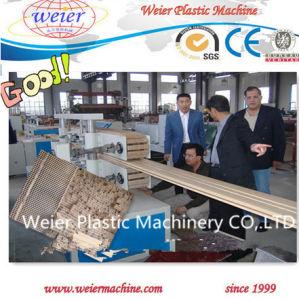 Wood Plastic Composite WPC Profiles Production Line pictures & photos