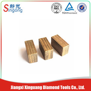 Sandwich Block Diamond Segments for Granite Cutting Tool pictures & photos