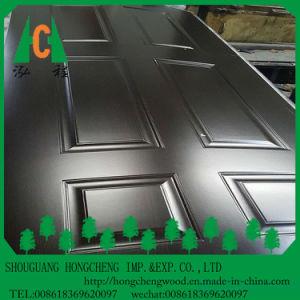 2.7mm-4.0mm Melamine High Glossy HDF Door Skin for Interior Doors pictures & photos
