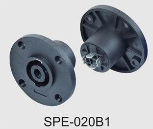 4pin Female Speakon Audio Jacks/Sockets (SPE-020B1) pictures & photos