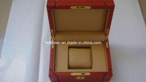 Luxury PU Leather & Wooden Single Gift Watch Box (CY1) pictures & photos