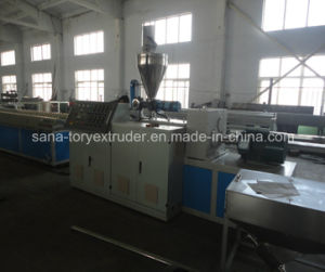 Advanced Design Plastic PVC Profile Extrusion Line Machinery pictures & photos