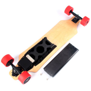 Dual Motor 4 Wheel Electric Smart Skateboard with Samsung Battery pictures & photos