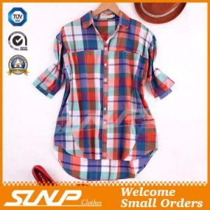 China Clothing Women Fashion Check Garment