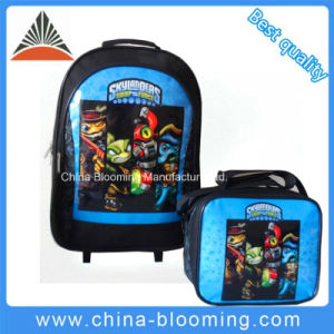 Student Stationery Rolling Trolley Backpack Back to School Bag pictures & photos