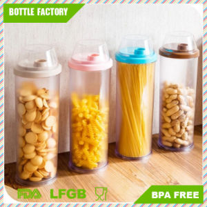 3 L Clear Kitchen Round Transparent Plastic Food Containers/PS Storage Container pictures & photos
