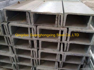 Q235B Pre-Galvanized Hot Rolled Steel Channel pictures & photos