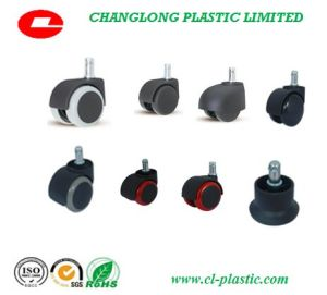 Nylon Casters with Double Wheels Used for Furniture