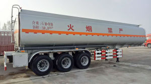 Fuel Tanker Semi Trailer with American Type Mechanical Suspension pictures & photos