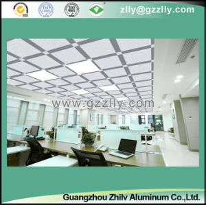 Suspended Frosted Ceiling Exposed Indoor Decoration -Plain pictures & photos