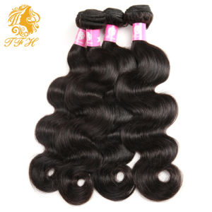 Indian Virgin Hair Body Wave 3 Bundles Raw Indian Hair Extension 7A Unprocessed Virgin Hair Indian Human Hair Weave Bundles pictures & photos