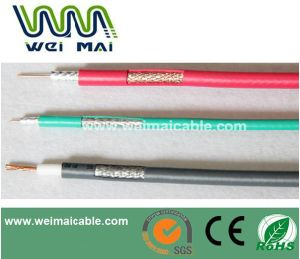 China Linan Manufacturer Copper RG6 Coaxial Cables (WM028) pictures & photos